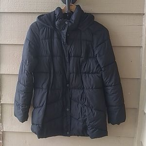 Old Navy maternity puffer coat M